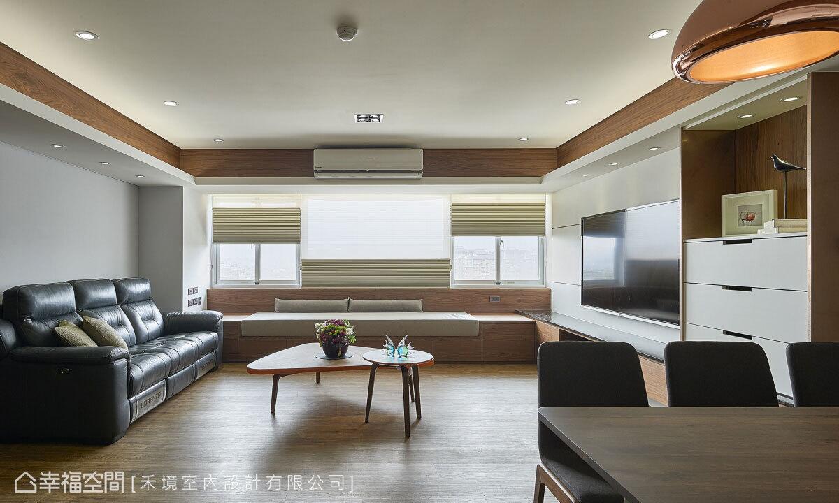現代風格 標準格局 老屋翻新 禾境室內設計有限公司
