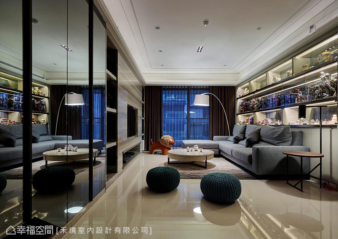 現代風格 標準格局 新成屋 禾境室內設計有限公司