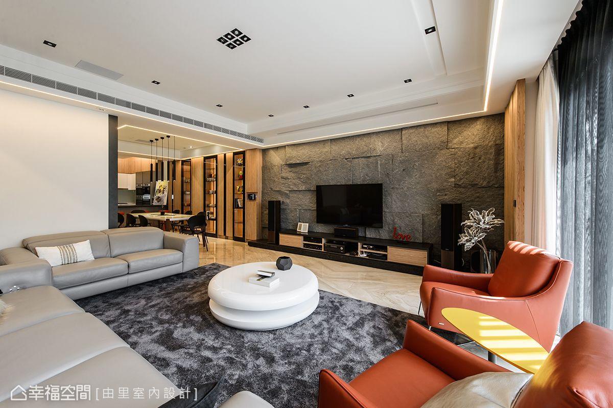 現代風格別墅新成屋由里室內設計