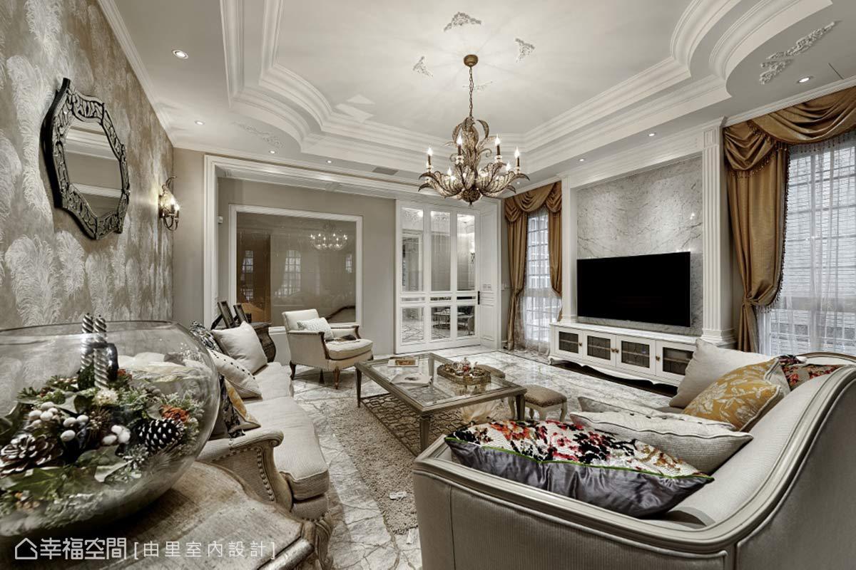 古典風格 別墅 新成屋 由里室內設計