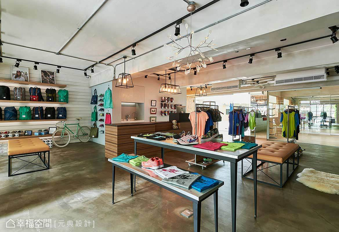 買場內展售由店家精心挑選的生活風格好物,不僅販售商品,更提供嶄新的生活型態。