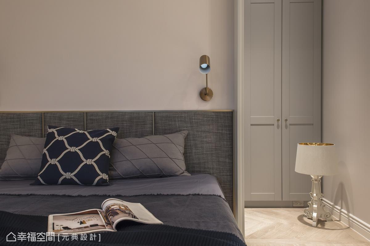 既開放又隱密的曖昧設計非常有意思,讓在臥室休息的同時,可以巧妙避開公領域的打擾。