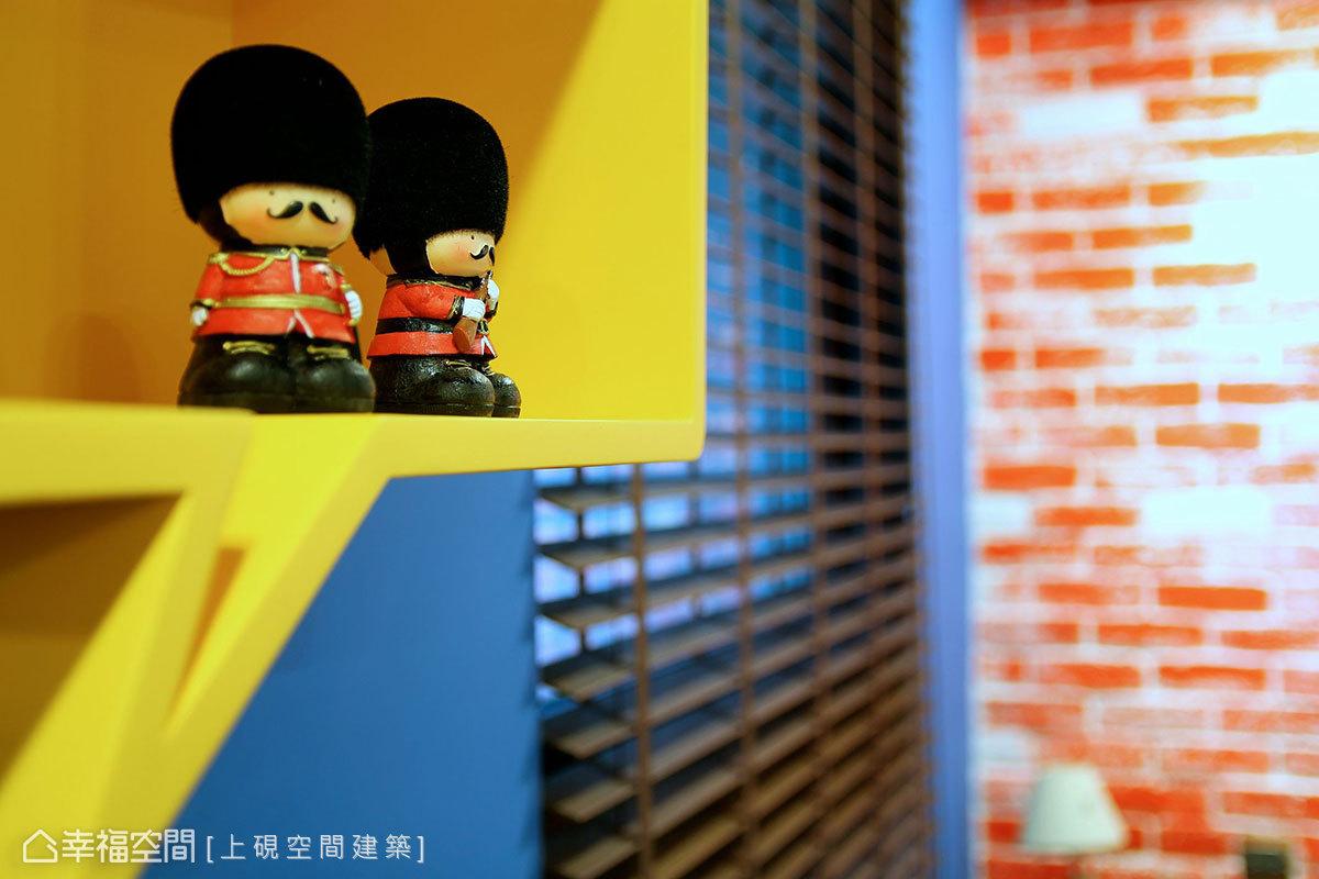 林韦豪.陈雅凤-室内设计:黄蓝红~特调英式编导恶表情搞童话包图片