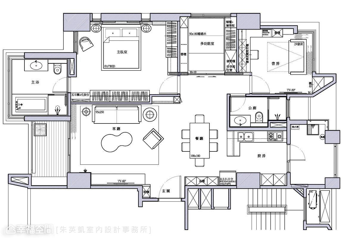 混搭風 標準格局 新成屋 朱英凱室內設計事務所