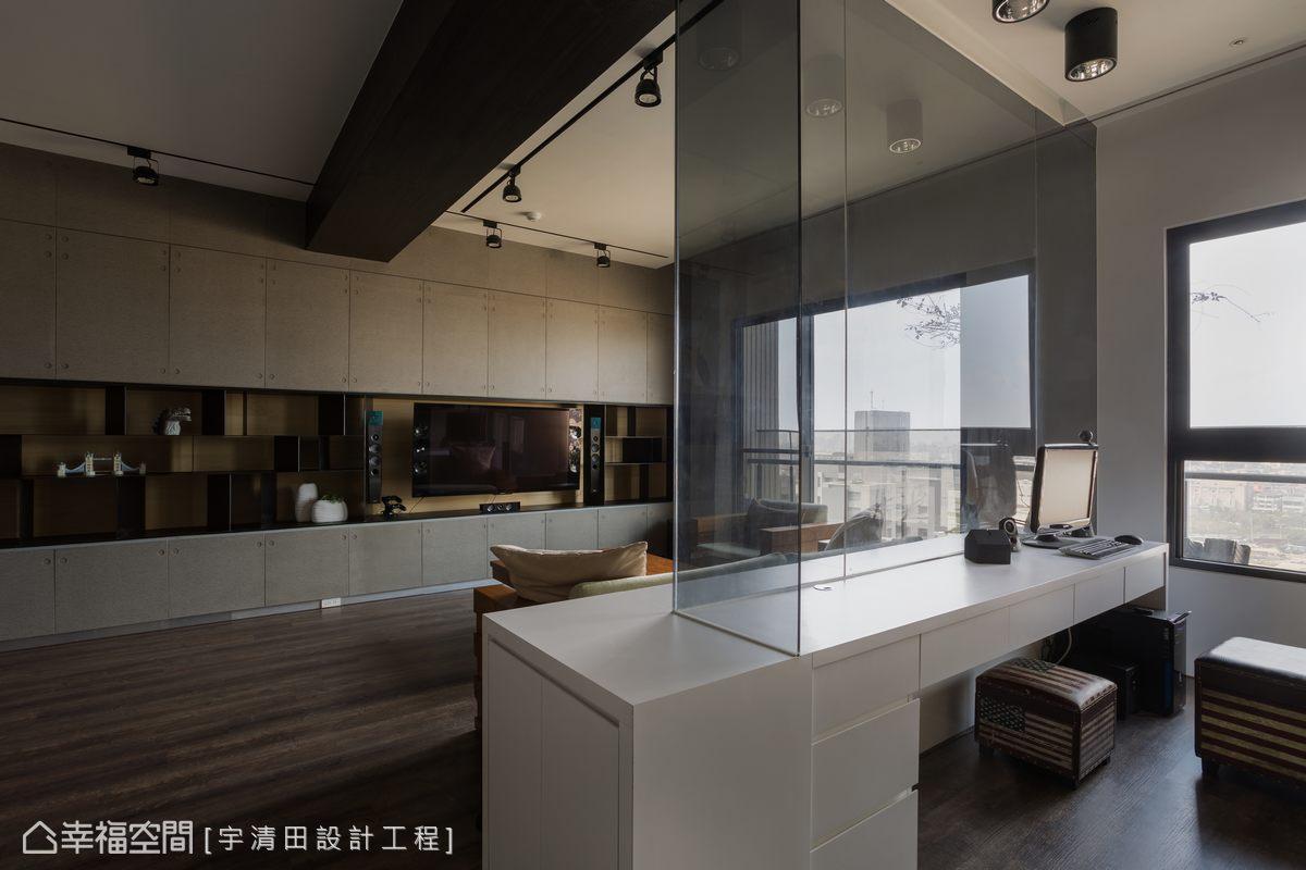 北歐風格 標準格局 新成屋 宇清田設計工程有限公司