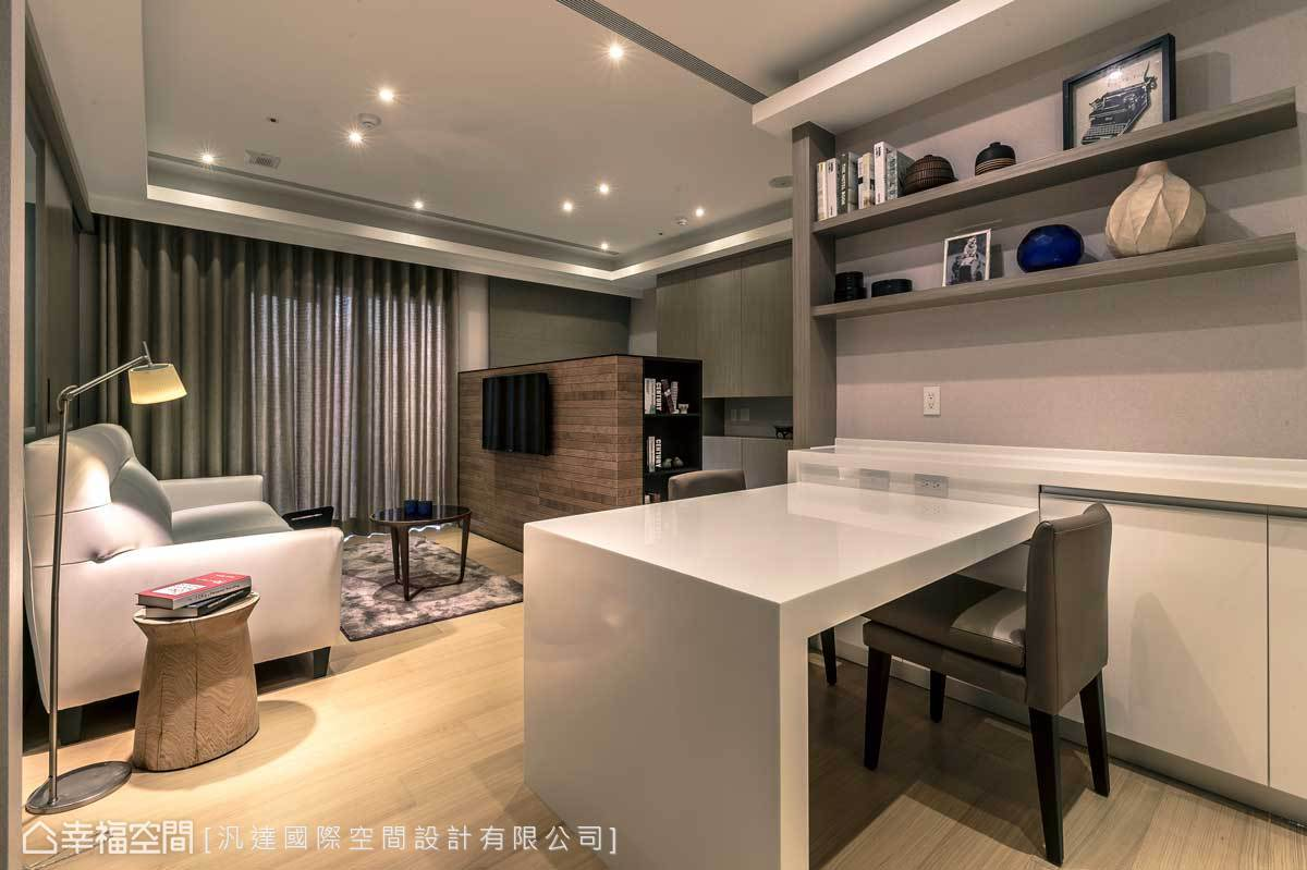 現代風格 小坪數 新成屋 汎達國際空間設計有限公司