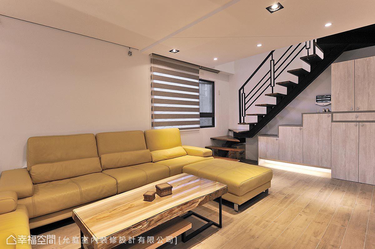 混搭風 樓中樓 老屋翻新 允庭設計有限公司