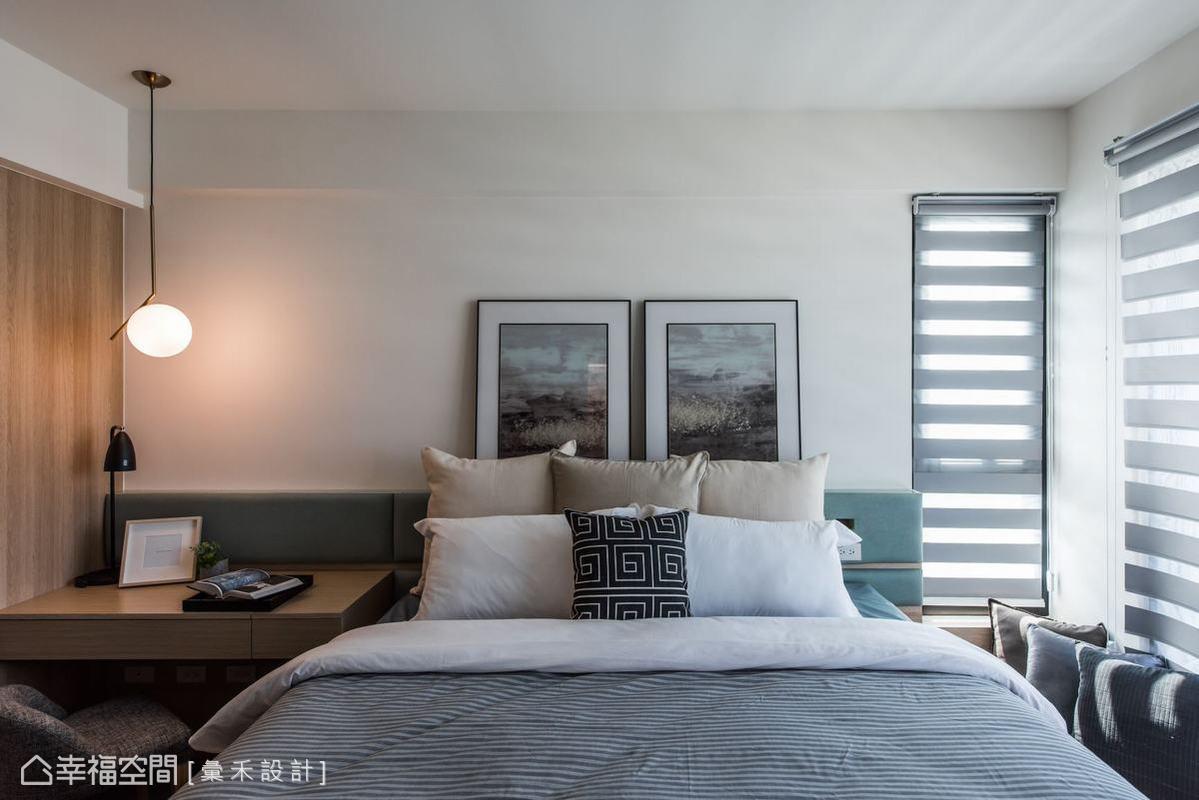 包括抱枕、家飾品、藝術品、燈具等,都由蔡林沖設計師全權安排打造,創造出一個個豐富又立體的空間。