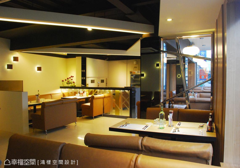 九分十刻的概念,完美譜畫出咖啡西餐廳的設計本質。