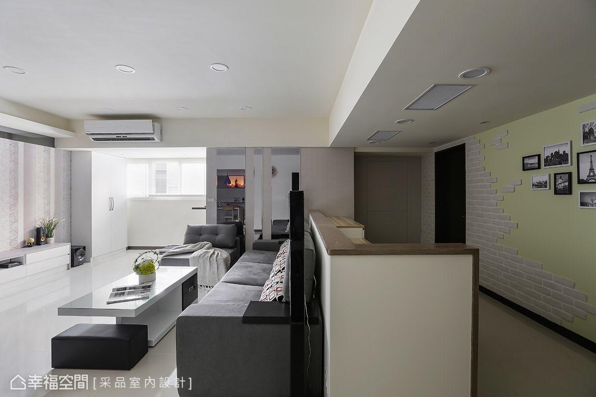 混搭風 標準格局 老屋翻新 采品室內設計