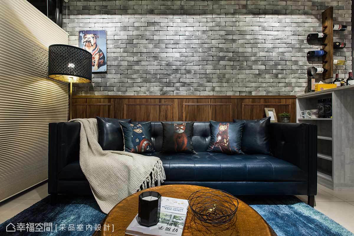 工業風格 小坪數 新成屋 采品室內設計