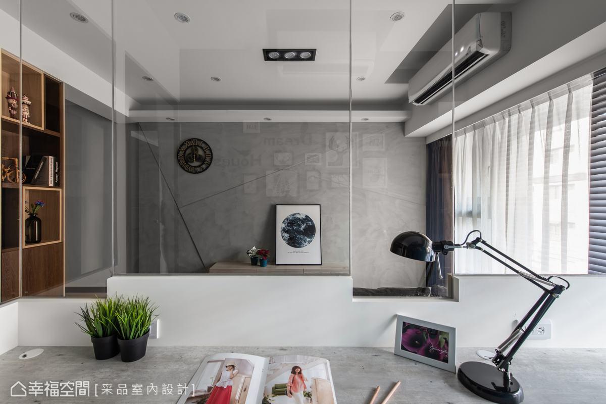 工業風格 標準格局 新成屋 采品室內設計