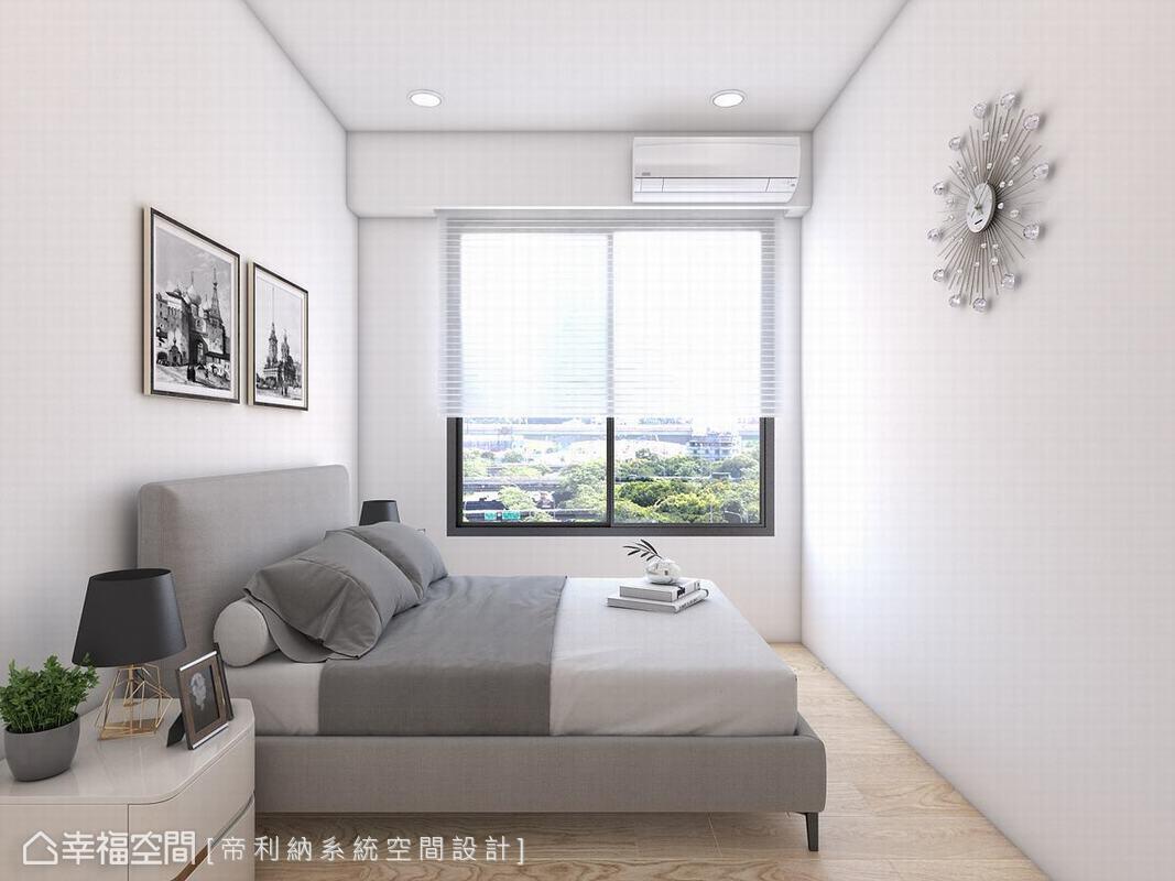 現代風格 標準格局 新成屋 帝利納系統空間設計