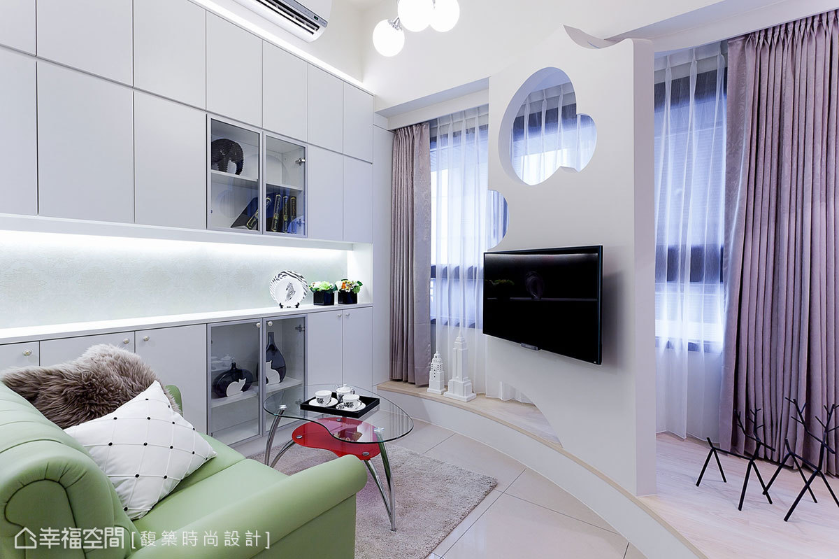 混搭風 挑高樓層 新成屋 馥築時尚室內裝修設計有限公司