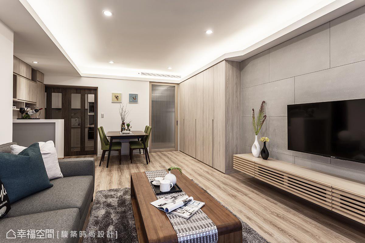 休閒多元 標準格局 老屋翻新 馥築時尚室內裝修設計有限公司