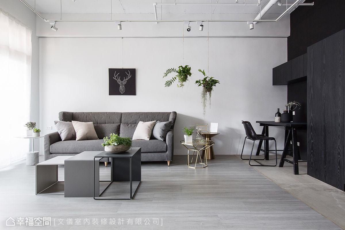 現代風格 標準格局 老屋翻新 文儀室內裝修設計有限公司
