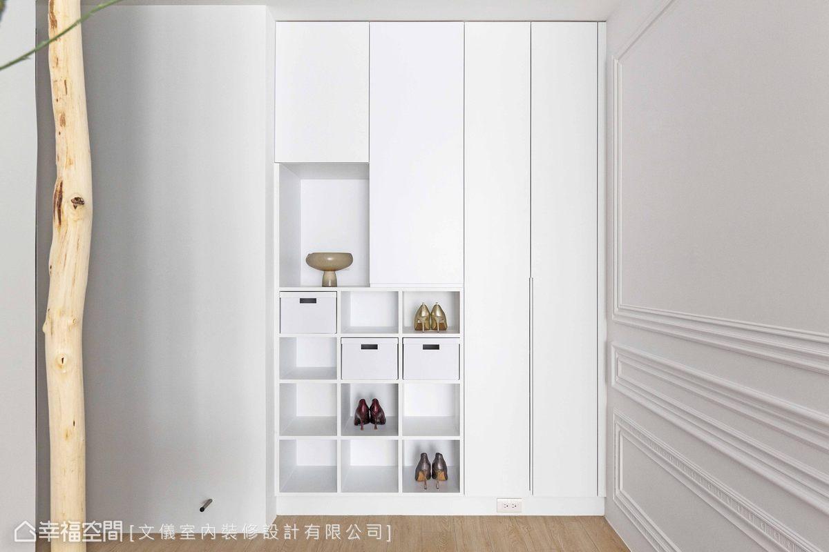 新古典 標準格局 毛胚屋 文儀室內裝修設計有限公司