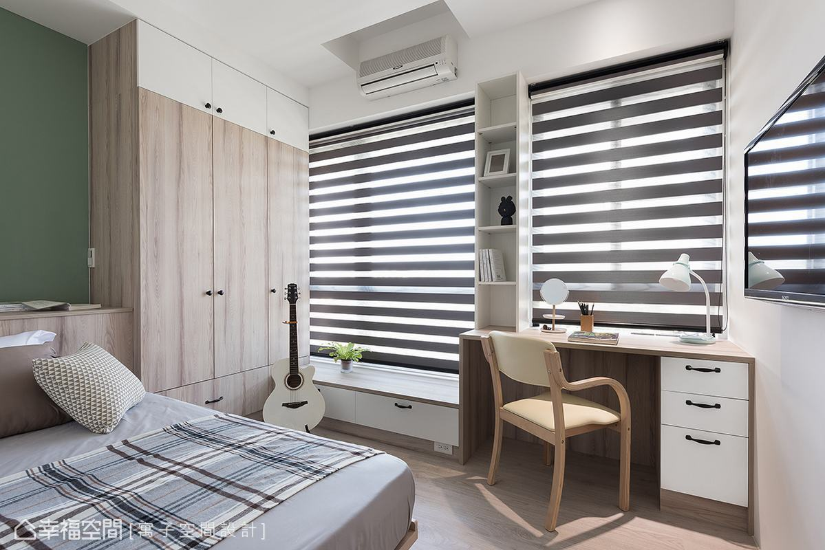 北歐風格 標準格局 新成屋 寓子空間設計