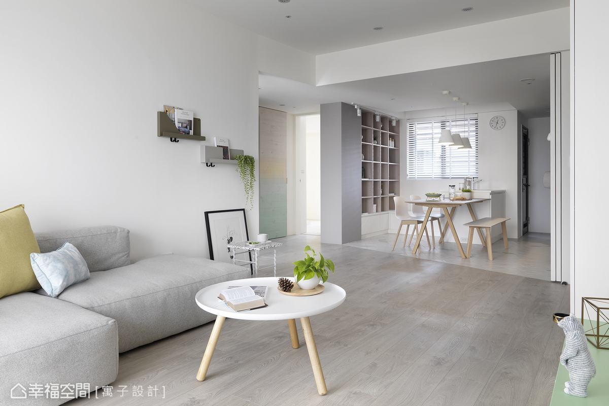 北歐風格 標準格局 老屋翻新 寓子設計