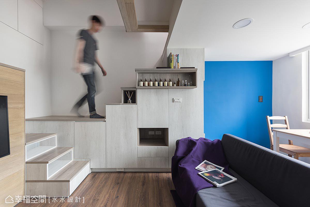 北歐風格 小坪數 老屋翻新 水水設計