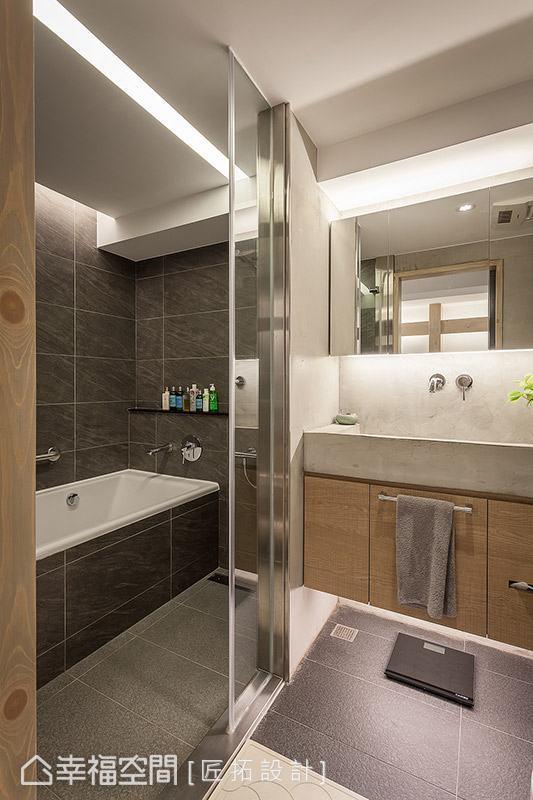 採用乾溼分離的機能規劃,讓居住者享有舒適的生活機能。