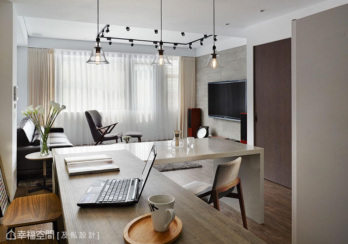 現代風格標準格局新成屋及俬設計