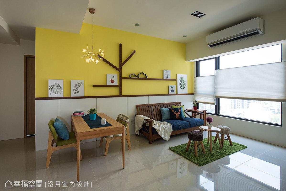 北歐風格 標準格局 新成屋 澄月室內設計