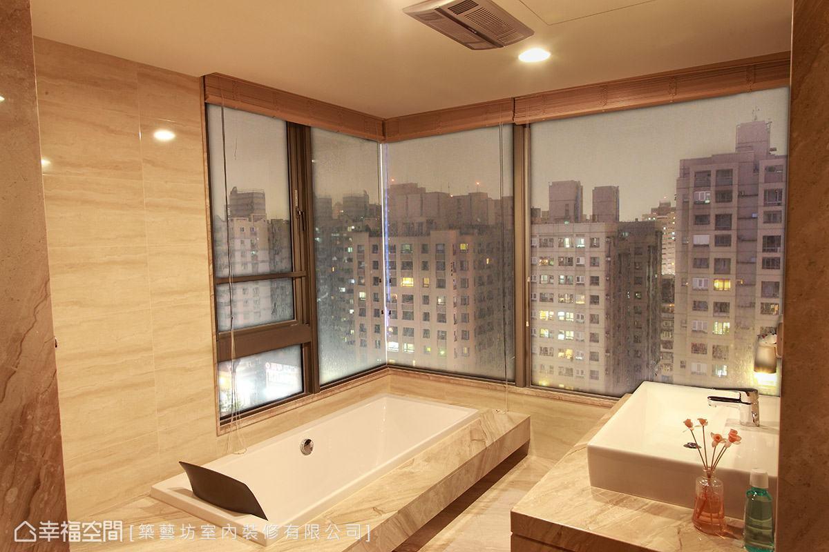 現代風格 大坪數 新成屋 築藝坊室內裝修有限公司