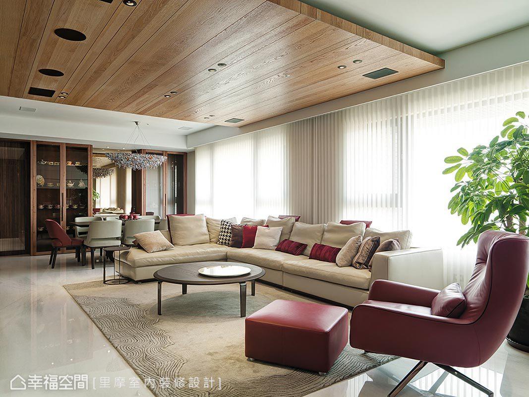 東方風格 大坪數 新成屋 里摩室內裝修設計