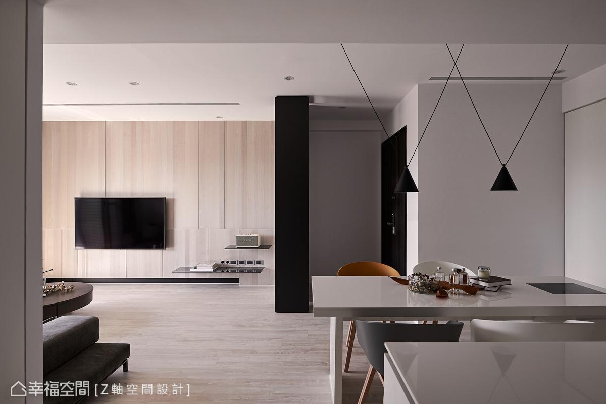 現代風格 標準格局 新成屋 Z軸空間設計