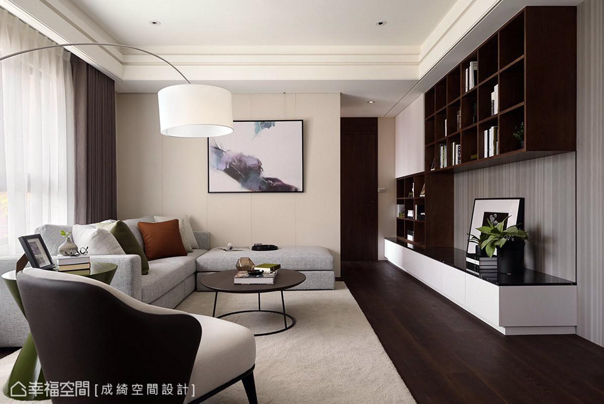 現代風格 標準格局 新成屋 成綺空間設計