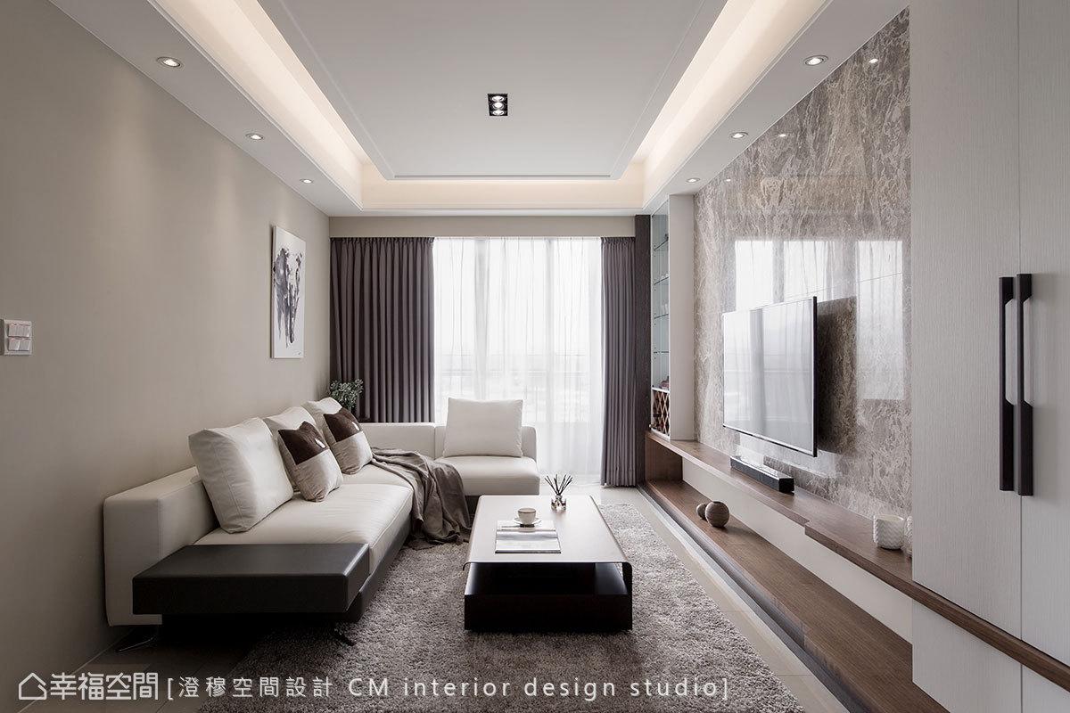 現代風格小坪數新成屋澄穆空間設計 CM interior design studio