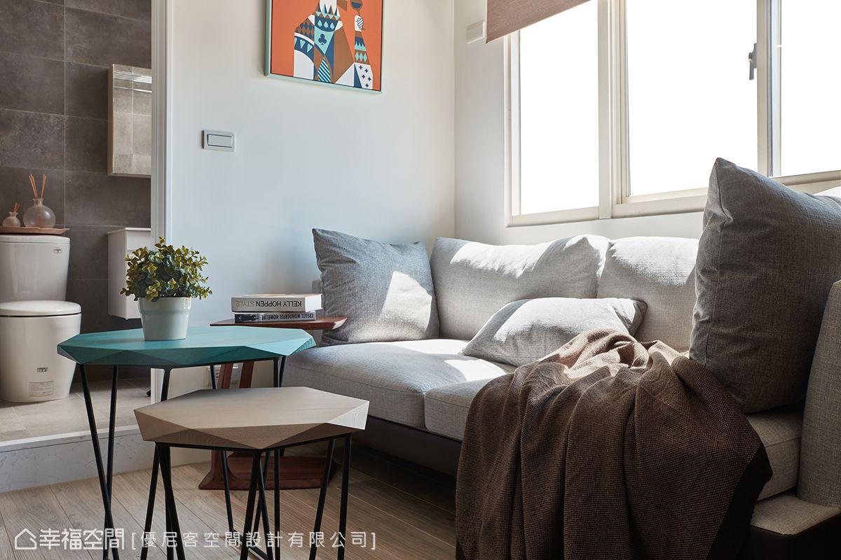北歐風格 小坪數 老屋翻新 優尼客空間設計有限公司