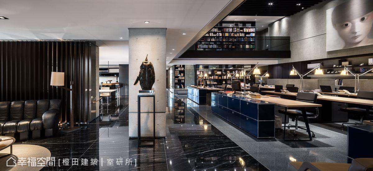 現代風格 商業空間 自地自建 橙田建築│室研所