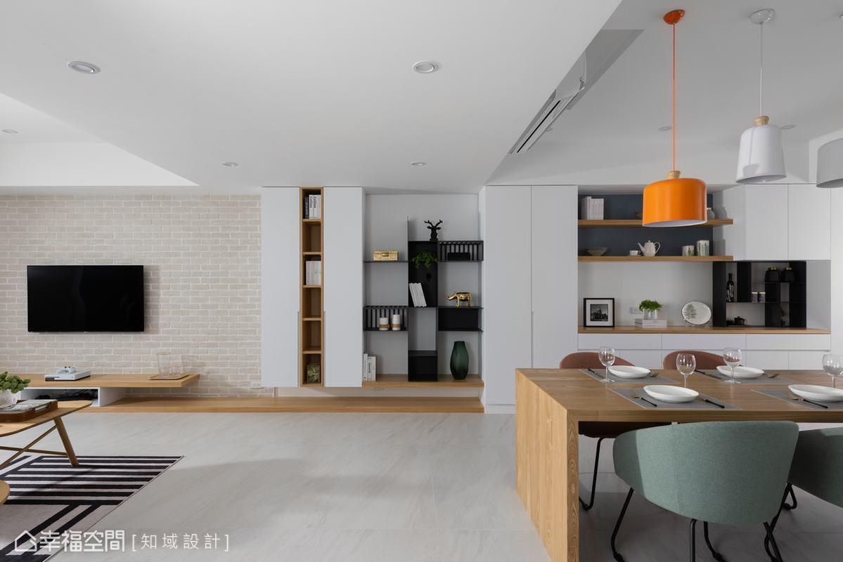 北歐風格 標準格局 老屋翻新 知域設計