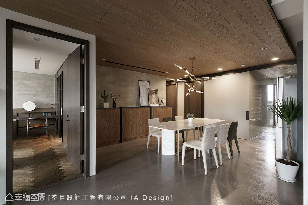 混搭風 標準格局 新成屋 iA Design_荃巨設計工程有限公司