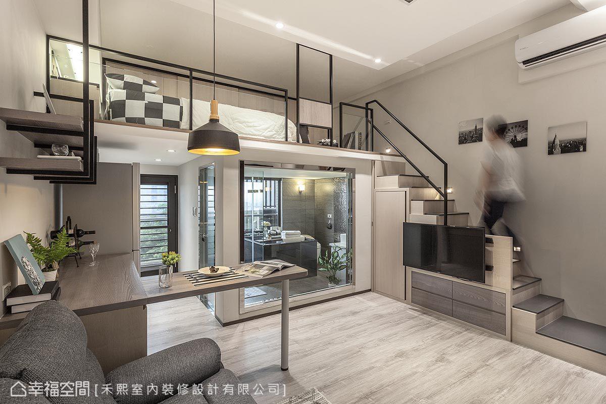 現代風格 挑高樓層 新成屋 禾熙室內裝修設計有限公司