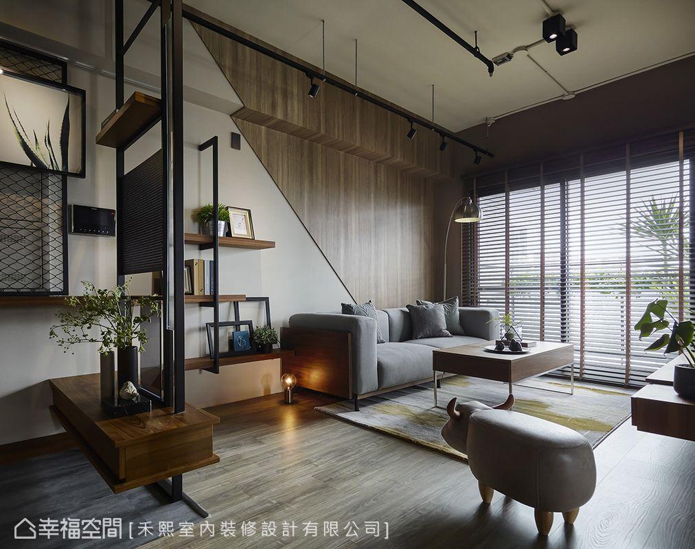 工業風格 小坪數 新成屋 禾熙室內裝修設計有限公司