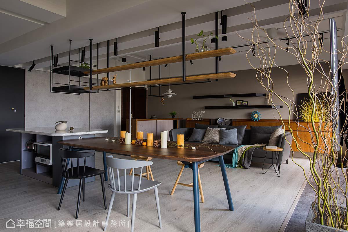 現代風格 標準格局 老屋翻新 築樂居設計事務所