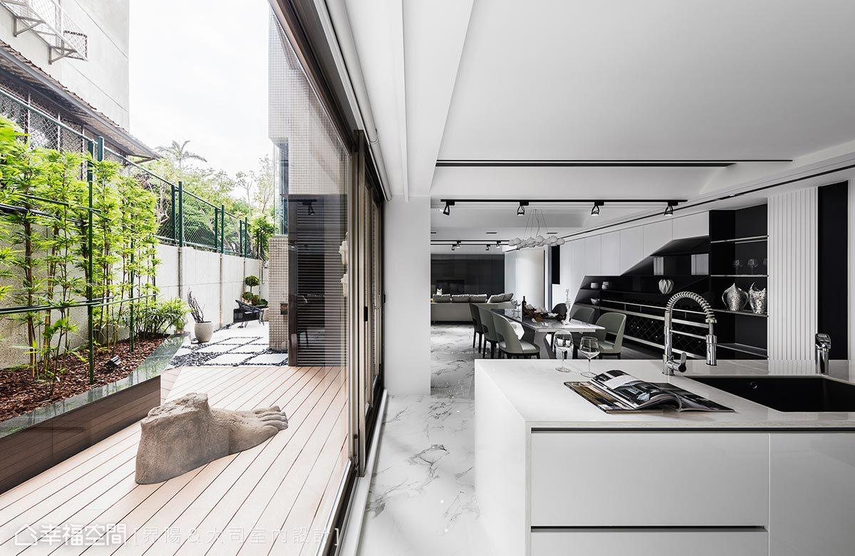 現代風格 樓中樓 老屋翻新 界陽&大司室內設計