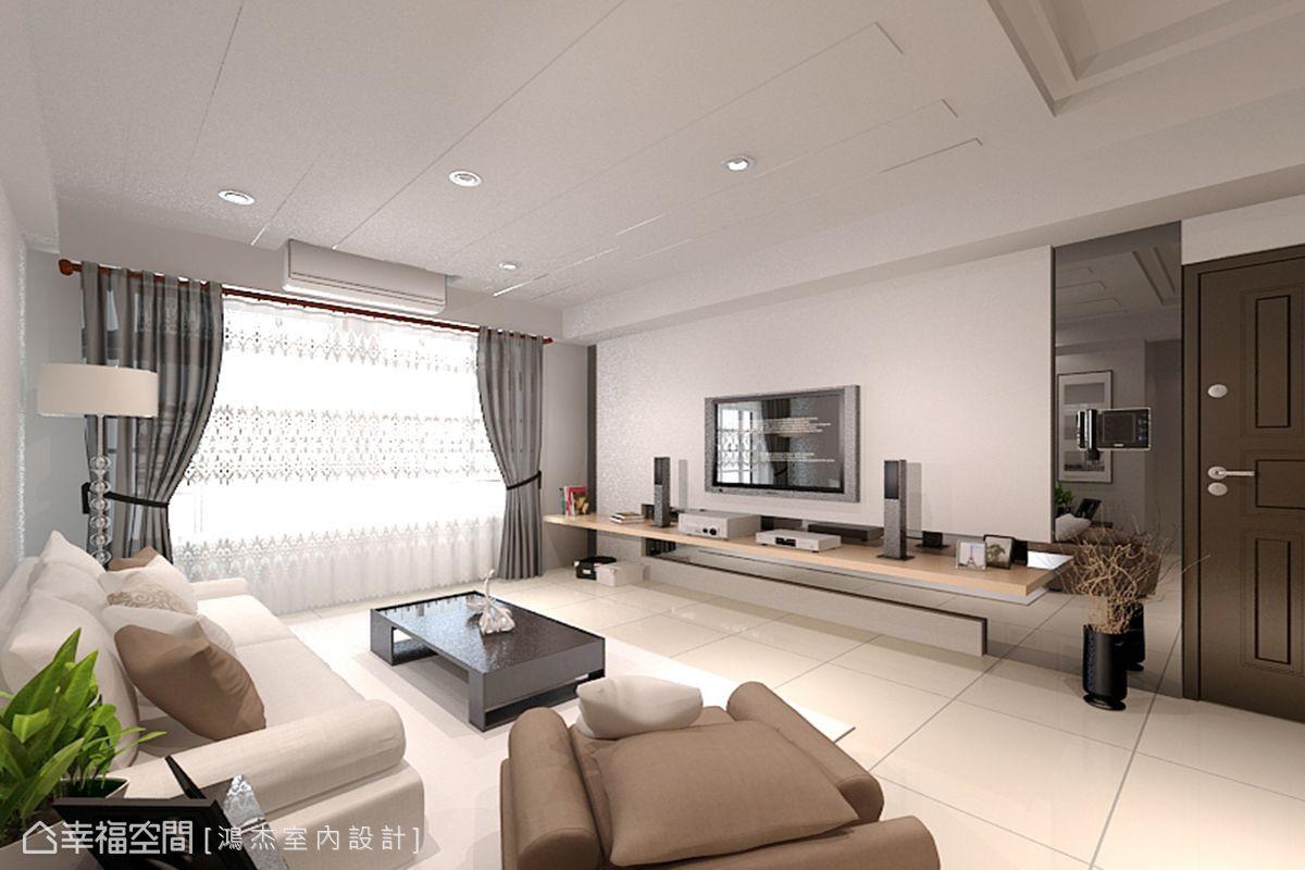 現代風格標準格局新成屋鴻杰室內設計