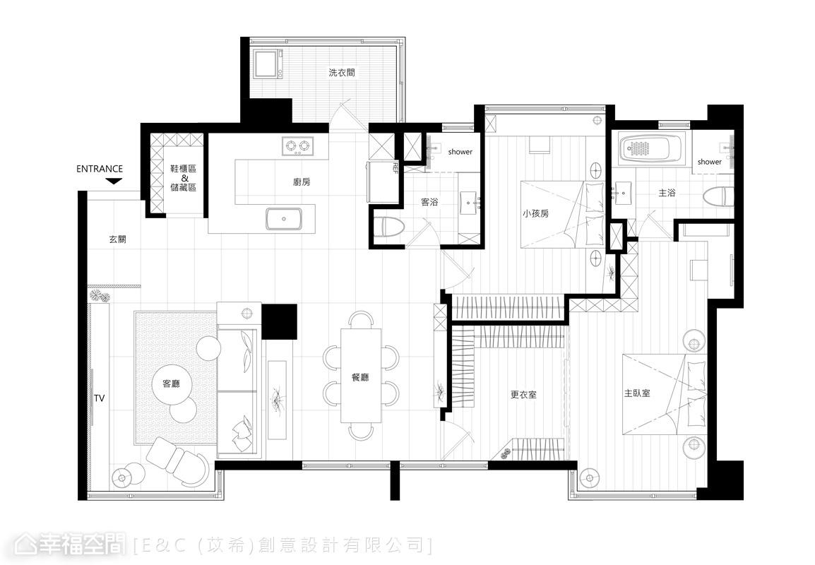 標準格局 老屋翻新 E&C (苡希)創意設計有限公司