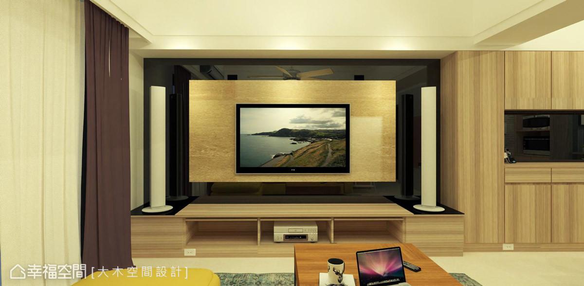 現代風格 標準格局 新成屋 大木空間設計