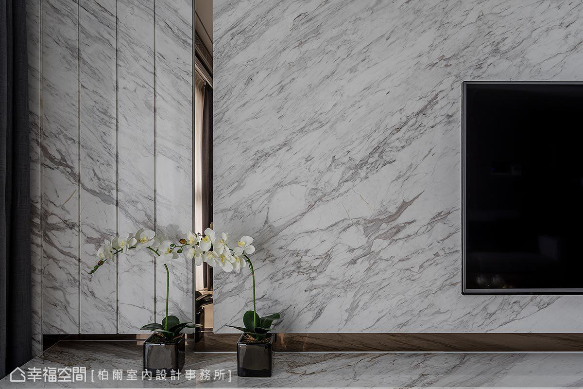 現代風格 標準格局 新成屋 柏爾室內設計事務所