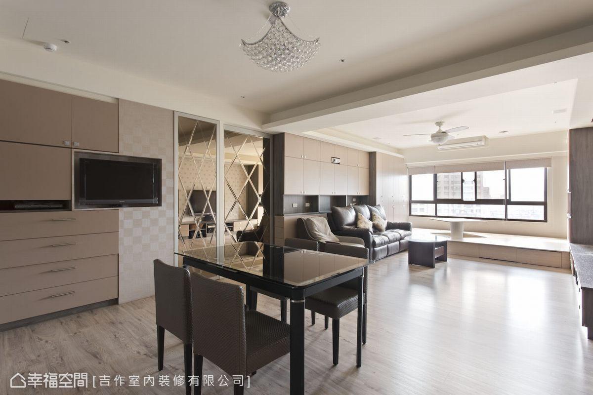 現代風格 大坪數 新成屋 吉作室內裝修有限公司
