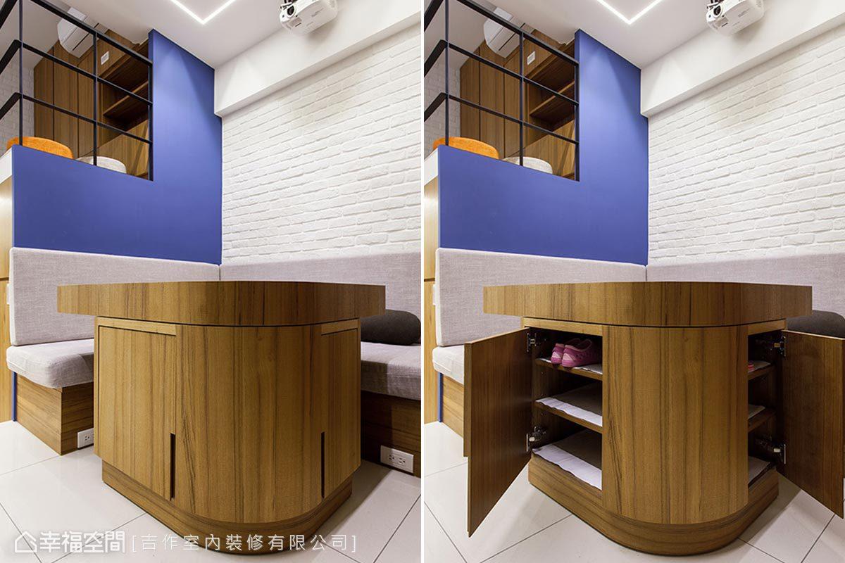 鄉村風格 小坪數 新成屋 吉作室內裝修有限公司