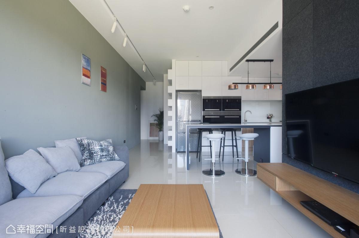 現代風格 標準格局 新成屋 昕益設計有限公司