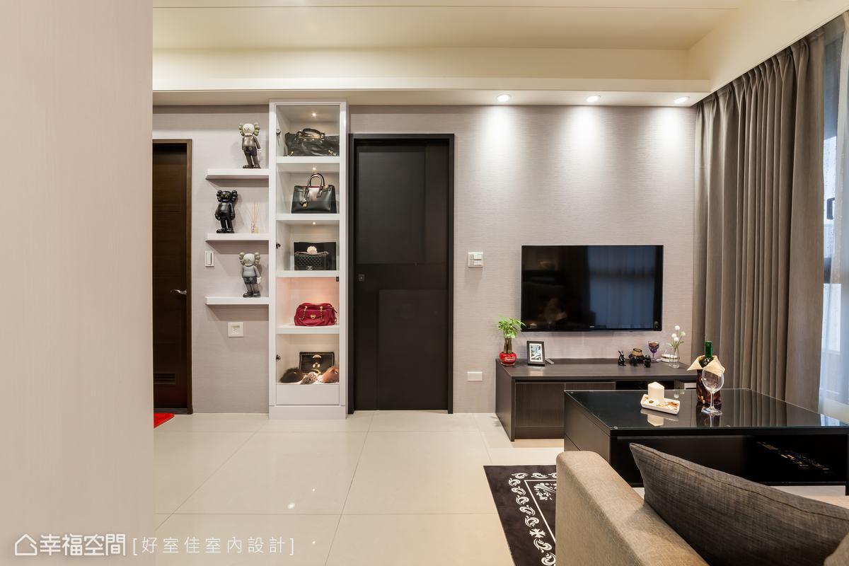 前衛風格 標準格局 新成屋 好室佳室內設計