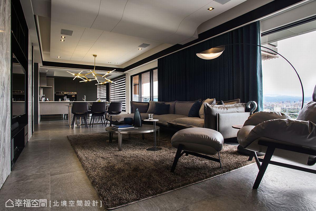 現代風格 標準格局 新成屋 北境空間設計