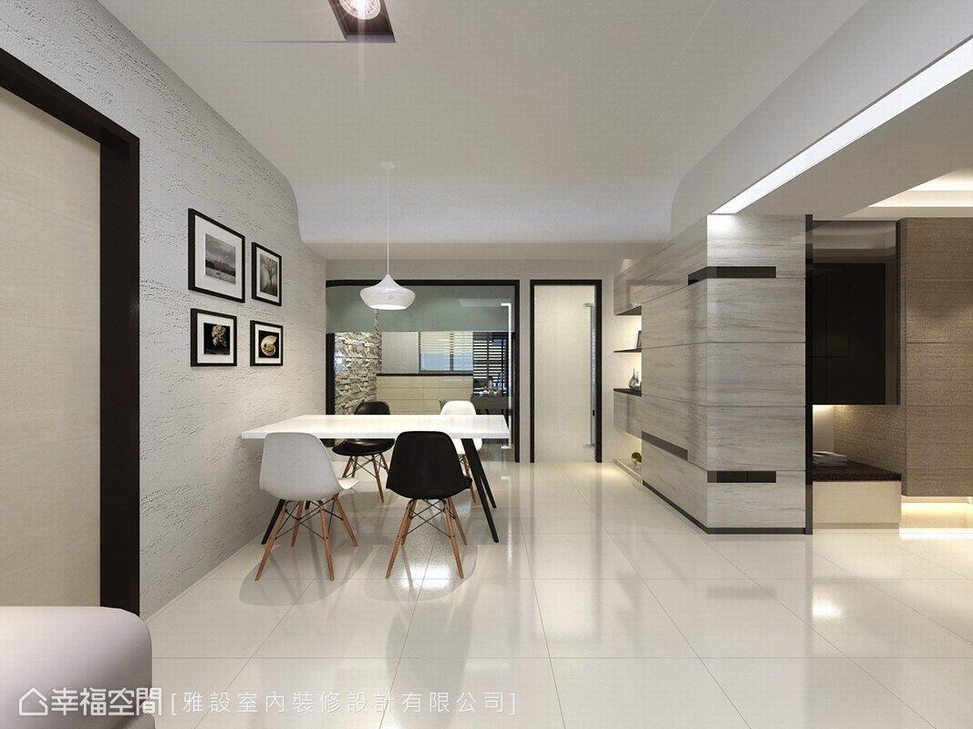 現代風格 標準格局 新成屋 雅設室內裝修設計有限公司